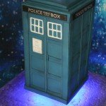 Levitating Tardis - Copy
