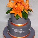 Orange lillies 2