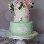 Vintage 21st whole cake