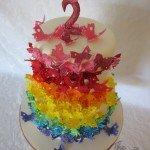 rainbow butterflies 15
